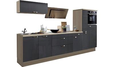 OPTIFIT Küchenzeile »Cara«, ohne E - Geräte, Breite 320 cm kaufen
