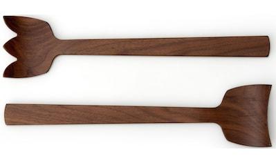 Continenta Salatbesteck »Tulip«, (2 tlg.), jedes Stück ein Unikat kaufen