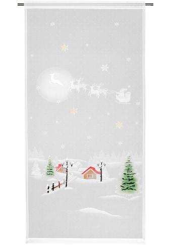 WILLKOMMEN ZUHAUSE by ALBANI GROUP Vorhang »Winterlandschaft«, HxB: 225x100,... kaufen