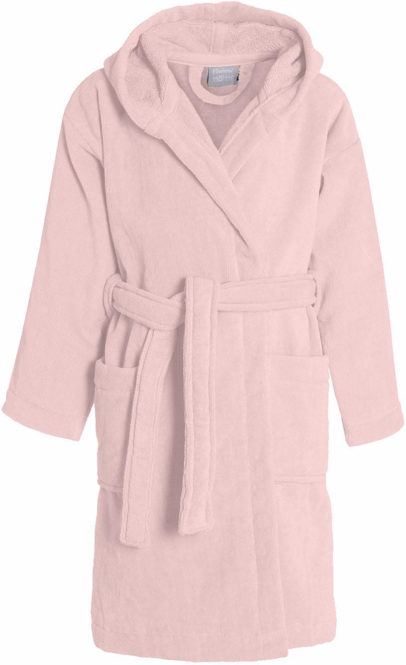 Kinderbademantel, Seahorse, »Pure«, mit Kapuze   Bekleidung > Wäsche > Bademäntel   Rosa   Baumwolle   SEAHORSE