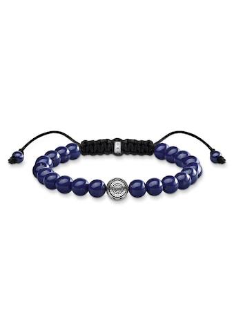 THOMAS SABO Armband »A1779 - 535 - 1 - L22v, Ethno blau« kaufen