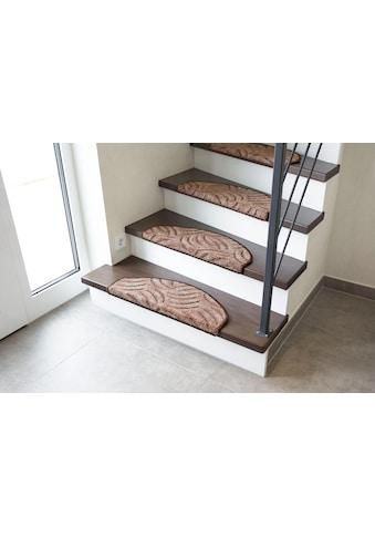 Stufenmatte, »Amberg«, Andiamo, halbrund, Höhe 9 mm, maschinell getuftet kaufen