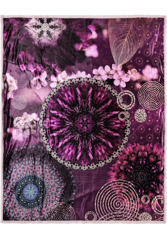 hip Plaid »Aluna«, mit Mandala kaufen