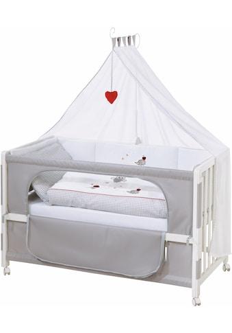 roba® Babybett »Room bed - Dekor Adam und Eule«, als Beistell-, Kinder- und Juniorbett verwendbar kaufen