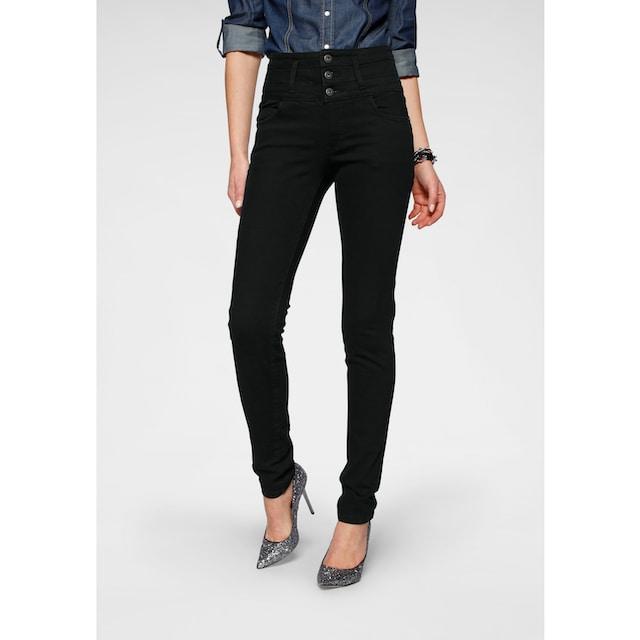 Arizona Slim-fit-Jeans »mit extra breitem Bund«