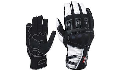PROANTI Motorradhandschuhe, aus Leder/Textil, für den Sommer kaufen