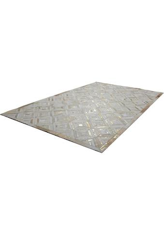 Lederteppich, »Spark 410«, Kayoom, rechteckig, Höhe 8 mm, handgewebt kaufen