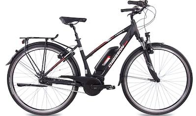 Chrisson E - Bike »E - Rounder Lady N7«, 7 Gang Shimano Nexus SG - C3000 - 7C Schaltwerk, Nabenschaltung, Mittelmotor 250 W kaufen