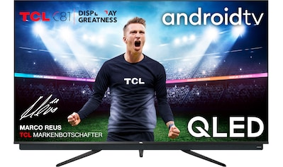 "TCL QLED-Fernseher »55C815X1«, 139 cm/55 "", 4K Ultra HD, Smart-TV, integrierter ONKYO... kaufen"