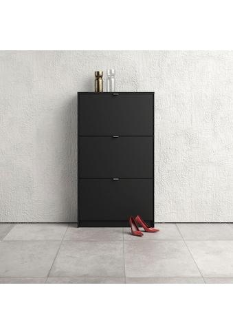 Home affaire Schuhschrank »Shoes«, mit drei Klappen, in verschiedenen Farbvarianten... kaufen