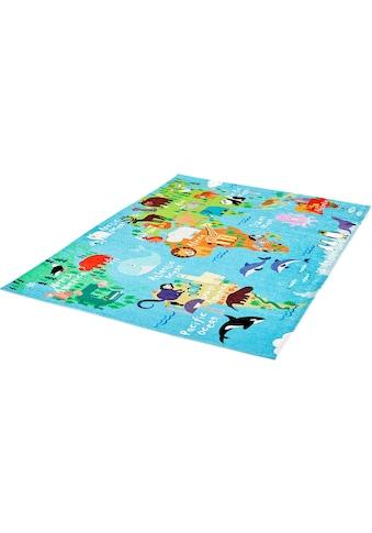 Kinderteppich, »My Torino Kids 233«, Obsession, rechteckig, Höhe 10 mm, maschinell gewebt kaufen