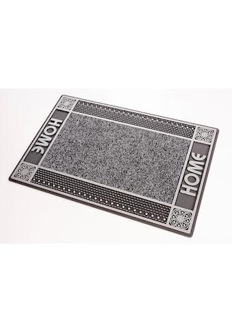 CarFashion Fußmatte »DC Clean Home«, rechteckig, 8 mm Höhe, Schmutzfangmatte, mit... kaufen