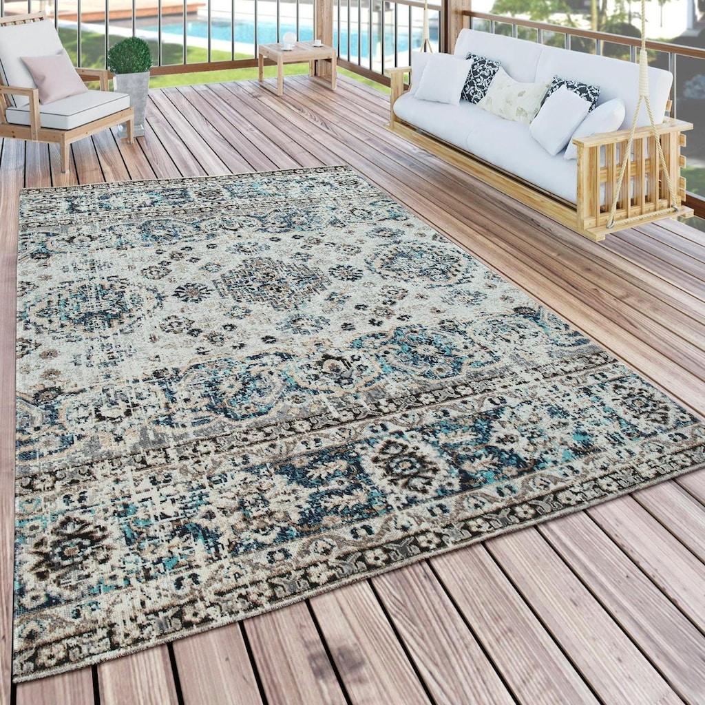 Paco Home Läufer »Artigo 419«, rechteckig, 11 mm Höhe, Teppich-Läufer, gewebt, Vintage Design, In- und Outdoor geeignet