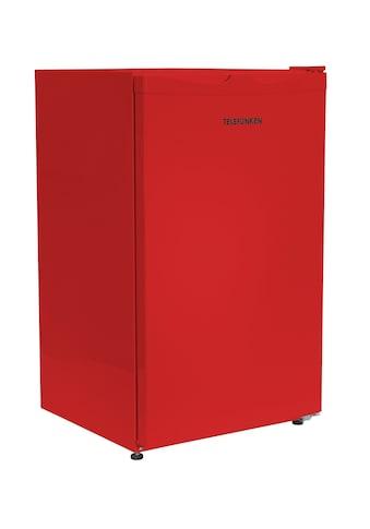Telefunken Kühlschrank »CF-33-100-R«, CF-33-100-R, 82.1 cm hoch, 48 cm breit, (88 Liter / rot) kaufen