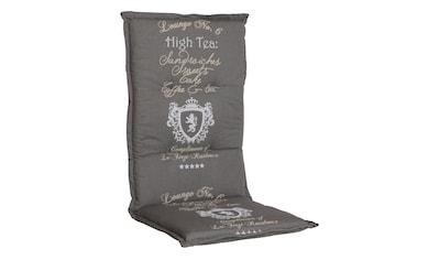 Go - De Hochlehnerauflage »Monaco«, (L/B): ca. 120x50 cm kaufen
