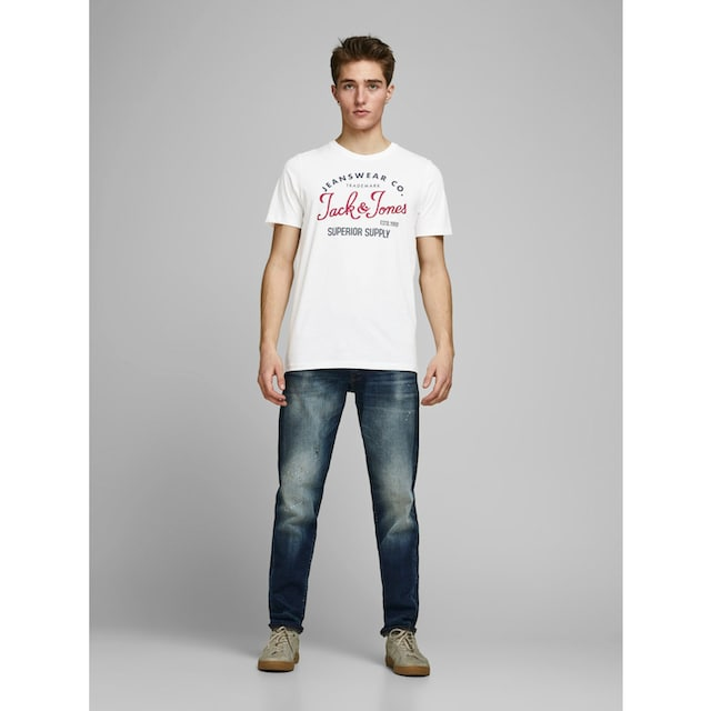 Jack & Jones T-Shirt »LOGO TEE SS CREW NECK«