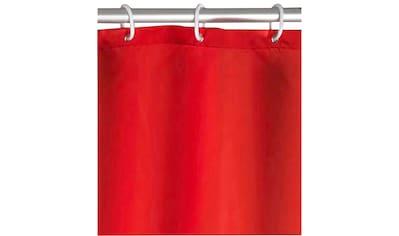 WENKO Duschvorhang »Uni Red« Breite 180 cm kaufen