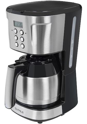 Gutfels Filterkaffeemaschine KA 8103 swi, Papierfilter 1x4 kaufen