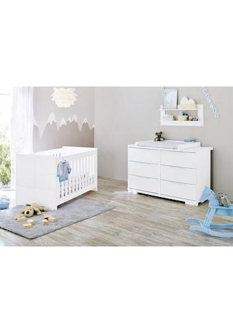 Pinolino® Babymöbel-Set »Polar«, (Spar-Set, 2 St.), extrabreit; mit Kinderbett und... kaufen