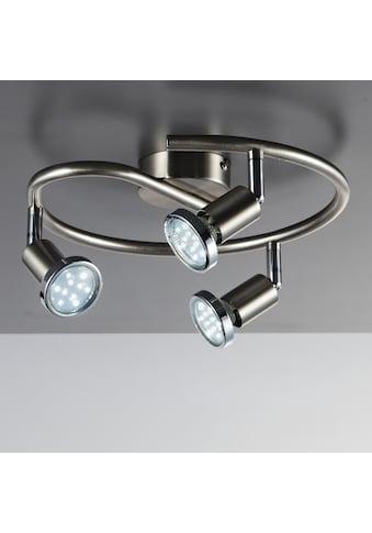 B.K.Licht LED Deckenspots »Mika 3«, GU10, Warmweiß, LED Deckenleuchte schwenkbar GU10... kaufen