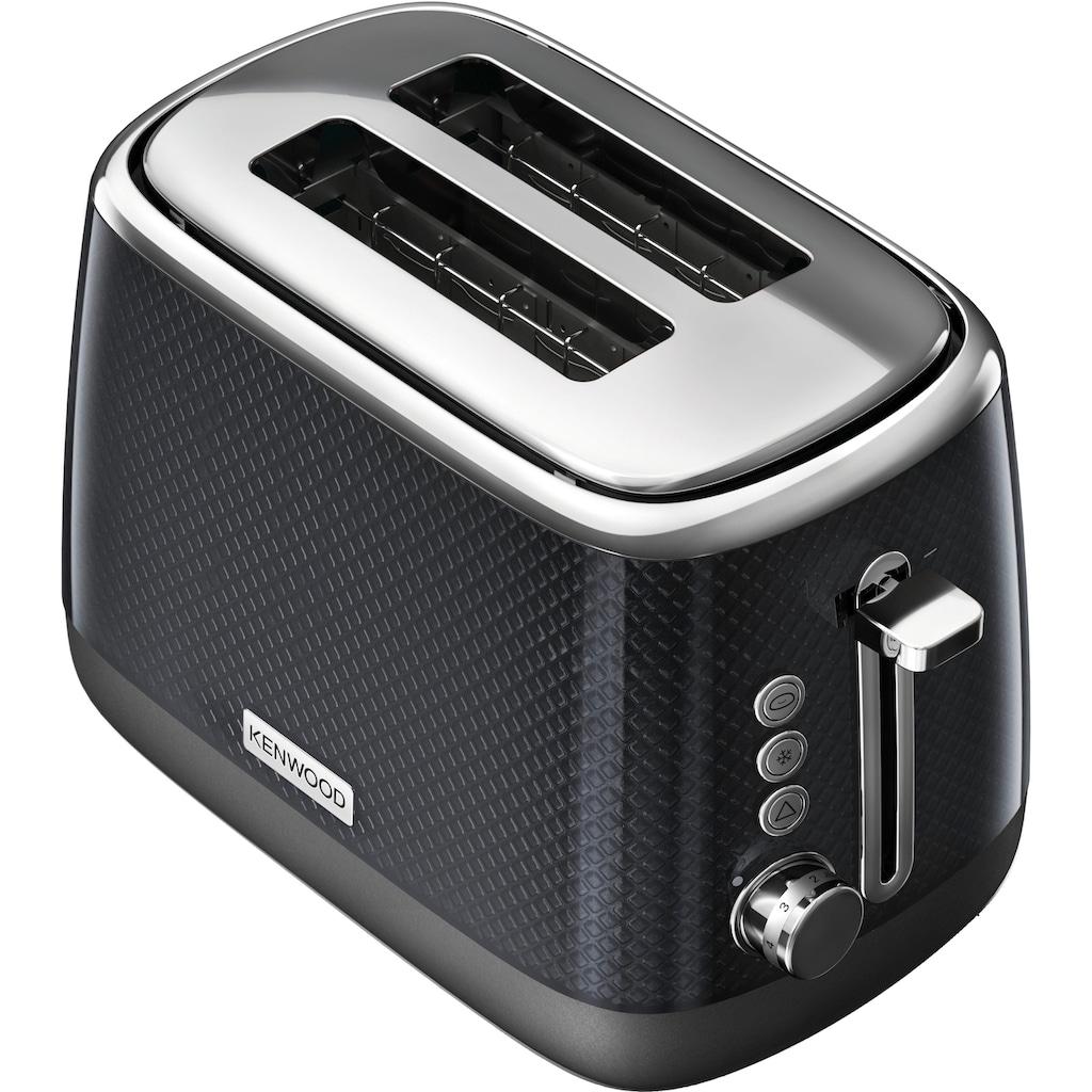 KENWOOD Toaster »Mesmerine TCM811.BK«, für 2 Scheiben, 1000 Watt