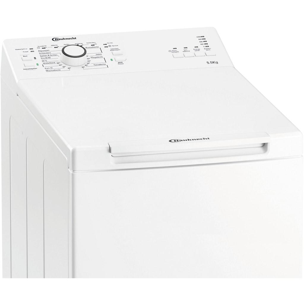 BAUKNECHT Waschmaschine Toplader »WAT Prime 550 SD N«, WAT Prime 550 SD N