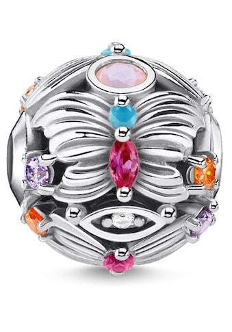 THOMAS SABO Bead »Schmetterling silber, K0341-342-7«, mit synth. Korund, Glassteinen und Zirkonia kaufen