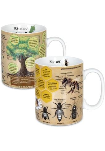 Könitz Becher »Wissensbecher Bäume&Biene«, (Set, 2 tlg.), 460 ml, 2-teilig kaufen