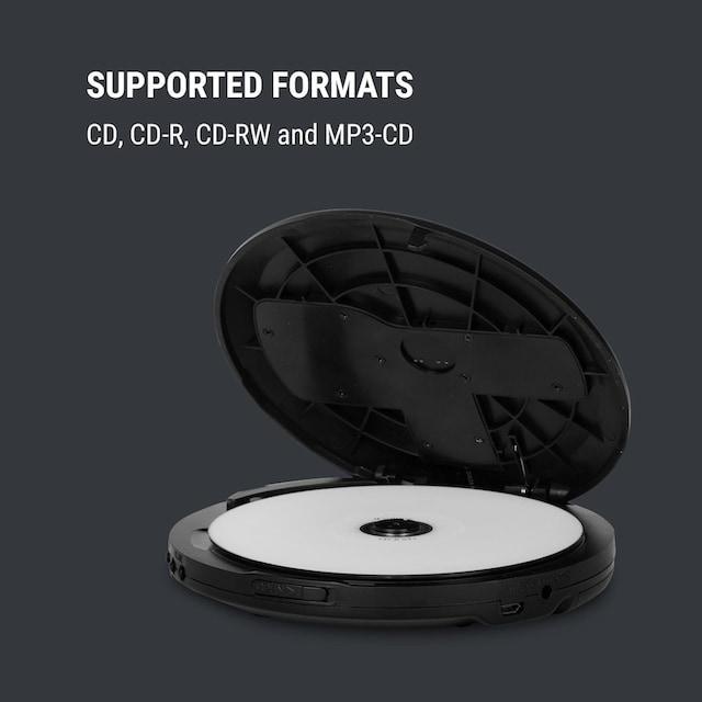 ONECONCEPT Discman BT-Funktion LCD ASP 2x1,5V schwarz »MG3 CDC-100 BT BK«