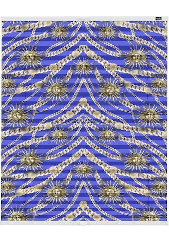 Plissee, »Klemmfix Motiv Roi soleil«, POMPÖÖS by Lichtblick, blickdicht, ohne Bohren kaufen