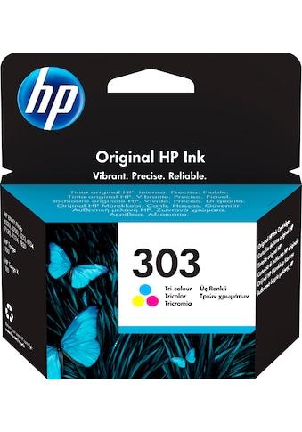 HP »hp 303 Original Cyan, Magenta, Gelb« Tintenpatrone (1 - tlg.) kaufen