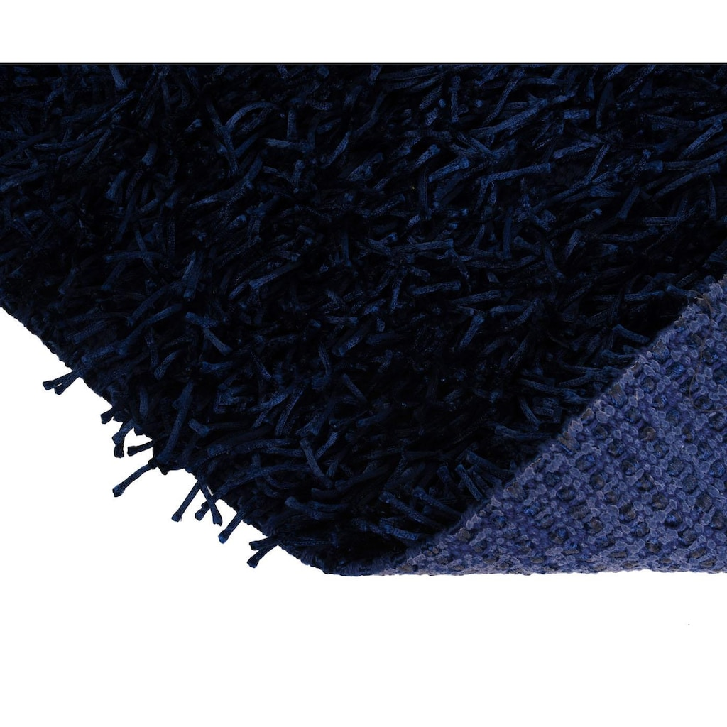 Gözze Badematte »Shaggy Uni«, Höhe 50 mm, rutschhemmend beschichtet, fußbodenheizungsgeeignet