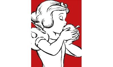 KOMAR XXL Poster »Snow White Apple Bite  -  red« kaufen