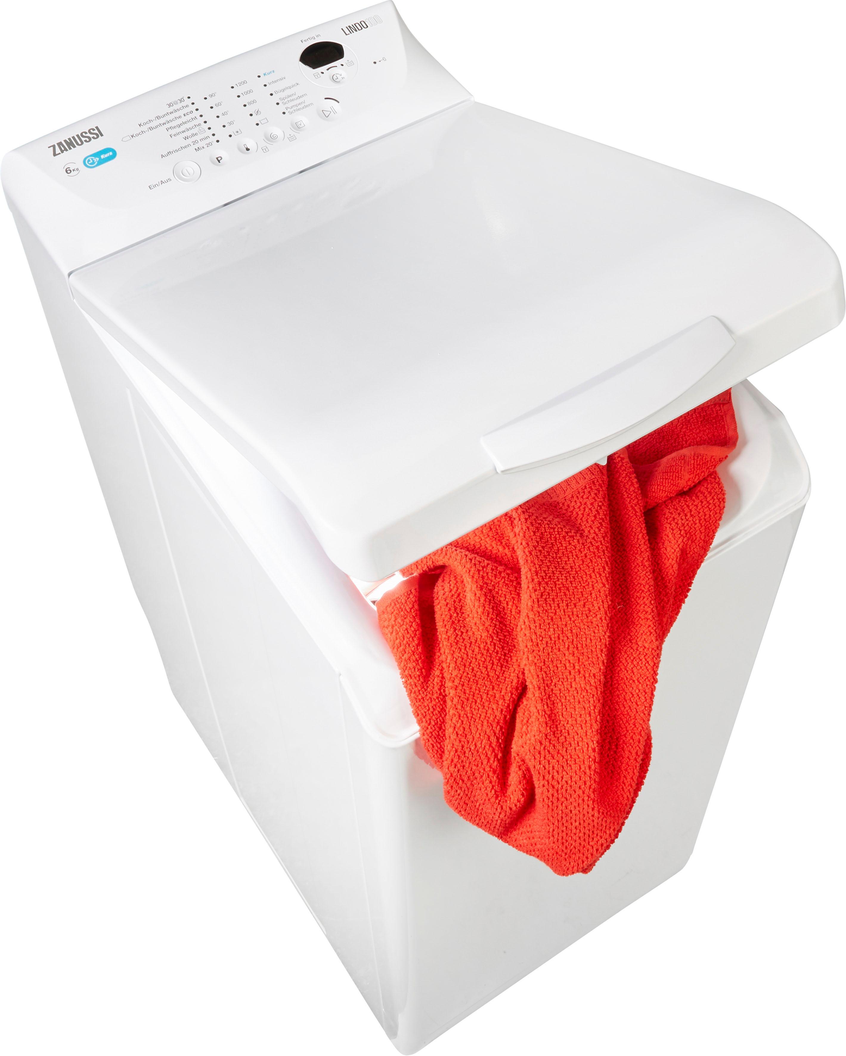 Zanussi Waschmaschine Toplader ZWY61235CI   Bad > Waschmaschinen und Trockner > Toplader   Zanussi