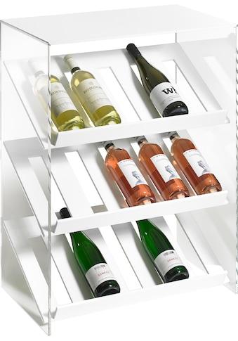 Places of Style Weinregal »Remus«, aus Acrylglas kaufen