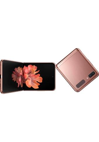 """Samsung Smartphone »Galaxy Z Flip 5G«, (17,01 cm/6,7 """" 256 GB Speicherplatz, 12 MP Kamera) kaufen"""