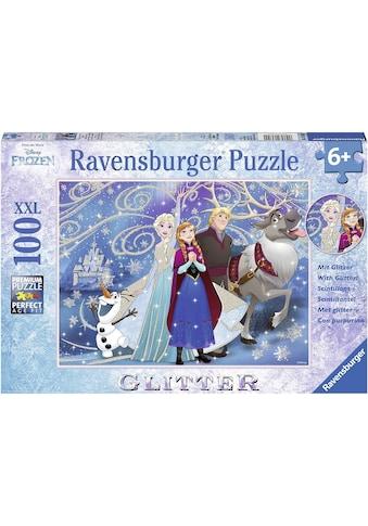 Ravensburger Puzzle »Disney Frozen glitzernder Schnee«, Made in Germany, FSC® - schützt Wald - weltweit kaufen