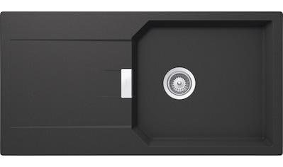 SCHOCK Granitspüle »Manhattan D - 100L«, großes Becken, 100 x 51 cm kaufen