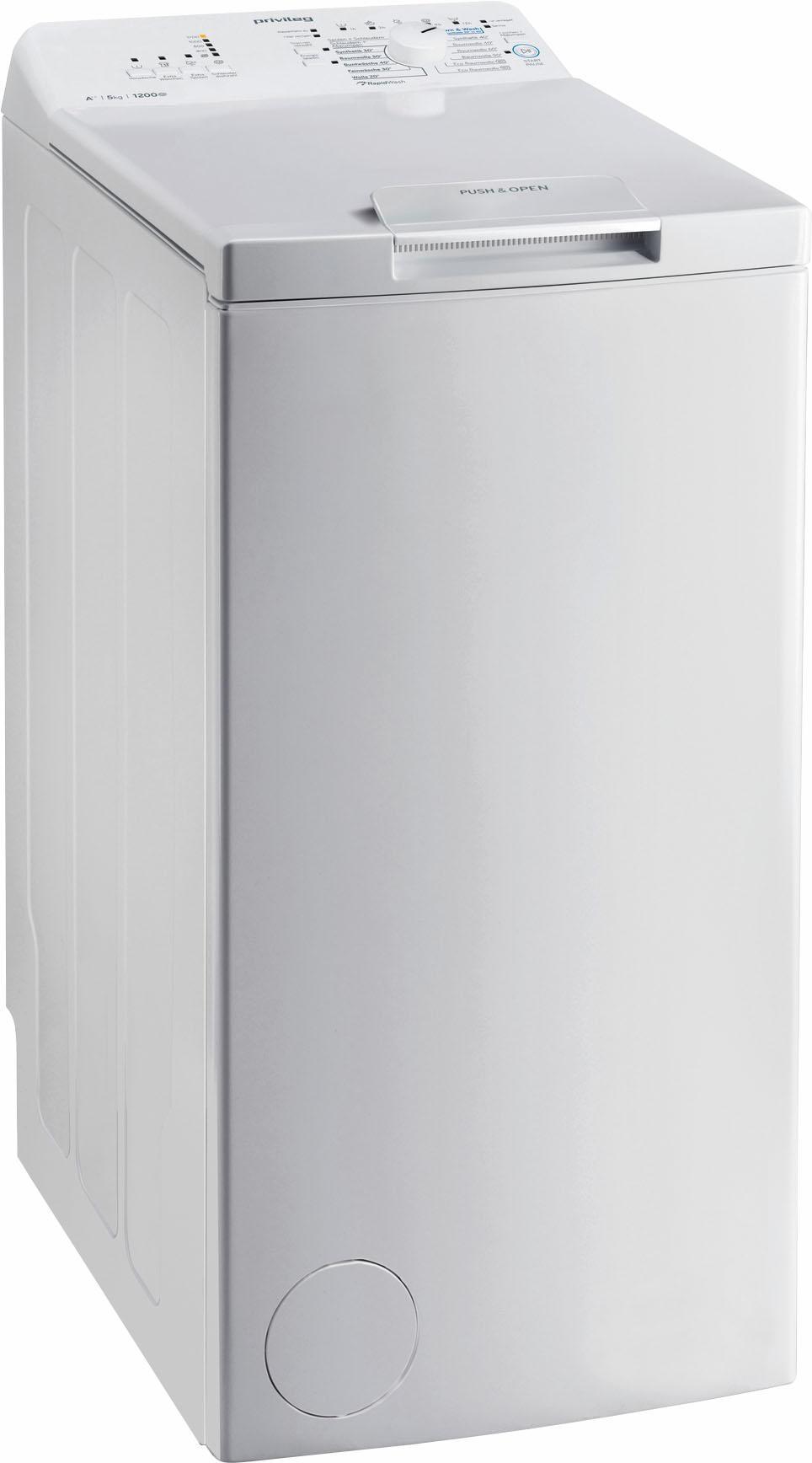 Privileg Waschmaschine Toplader PWT A51252P   Bad > Waschmaschinen und Trockner > Toplader   Privileg