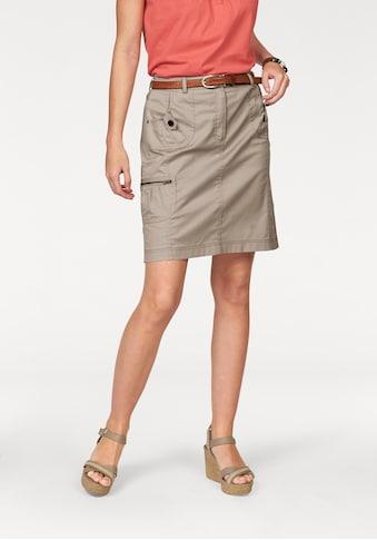 Aniston CASUAL Cargorock, mit figurfreundlichen Teilungsnähten kaufen