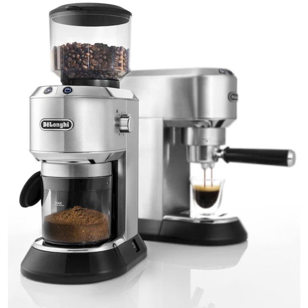 De'Longhi Kaffeemühle »Dedica KG520.M«, inkl. Siebträgeradapter
