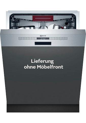 NEFF teilintegrierbarer Geschirrspüler »S245ECS11E«, N 50, S245ECS11E, 13 Maßgedecke kaufen