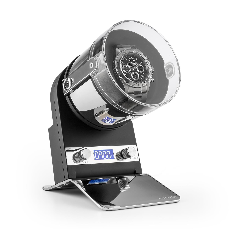 Klarstein Uhrenbeweger Uhrendreher Watchwinder Display Batteriebetrieb »Montreaux« | Uhren > Uhrenbeweger | Klarstein