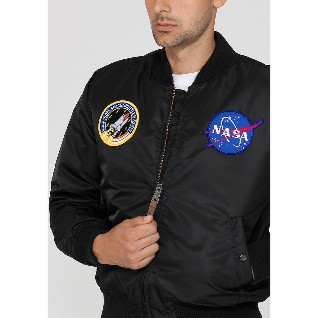 Alpha Industries Bomberjacke »MA-1 VF NASA«