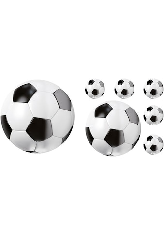 Wall-Art Wandtattoo »Fußball Set Fußbälle« kaufen