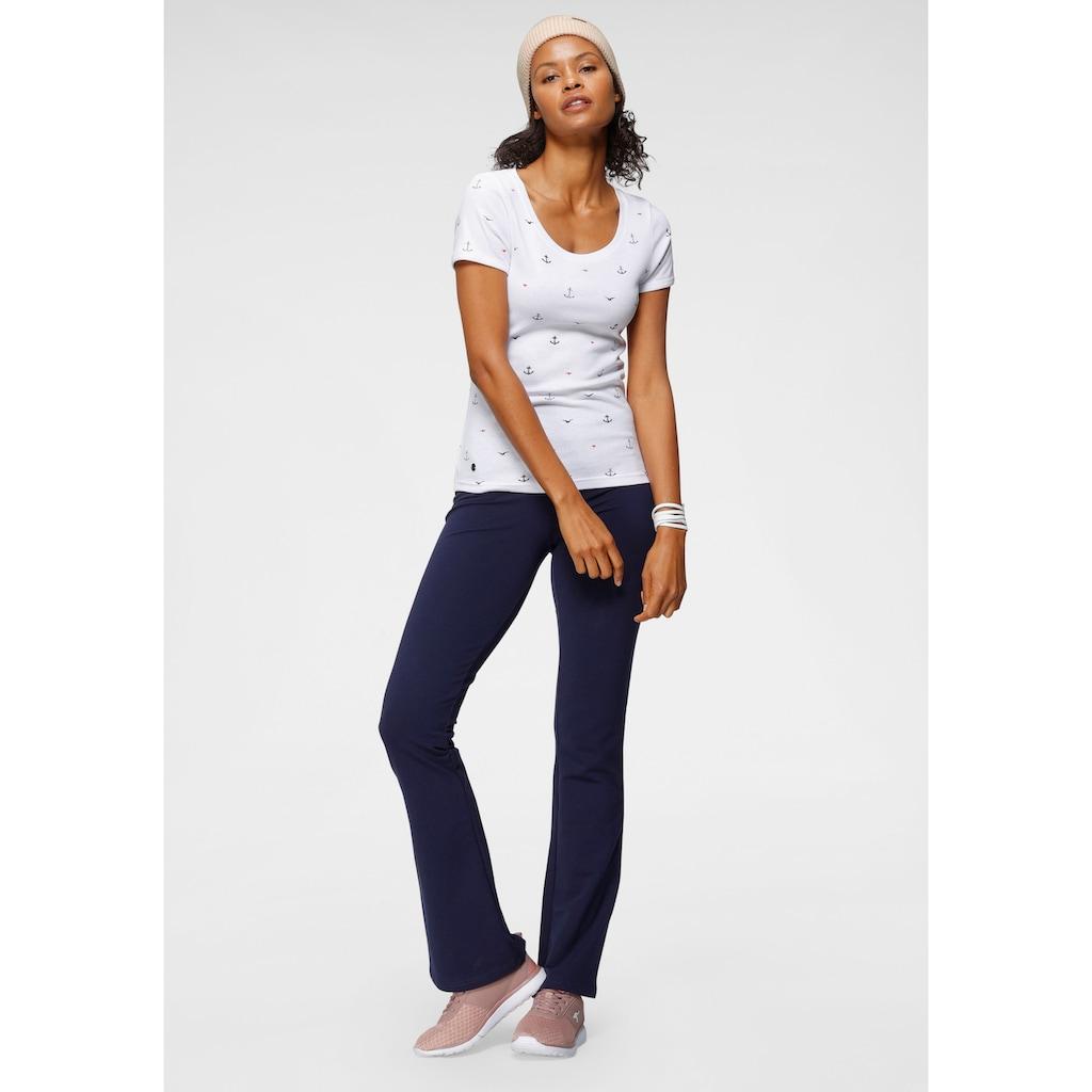 KangaROOS Jazzpants, mit hohem Stretch-Anteil sitzt wie eine zweite Haut