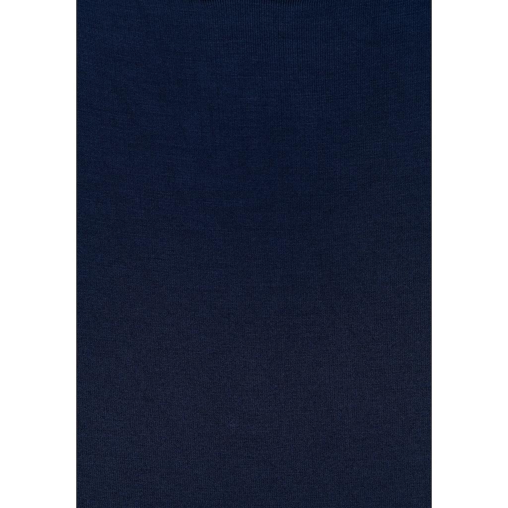 LASCANA Tanktop, (2er-Pack), mit schönen Ausschnittdetails