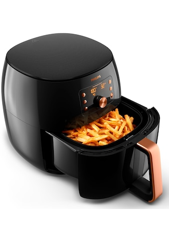 Philips Heissluftfritteuse »HD9860/90 Airfryer XXL«, mit Smart Sensing Technologie, Fassungsvermögen 1,4kg, digitales Display kaufen