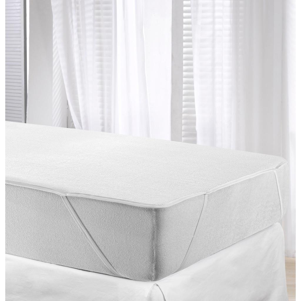 Jekatex Matratzenauflage »GreenWave Protector«, wasserdicht & kochfest bis 95 °c, mit zusätzlicher, atmungsaktiver Membrane