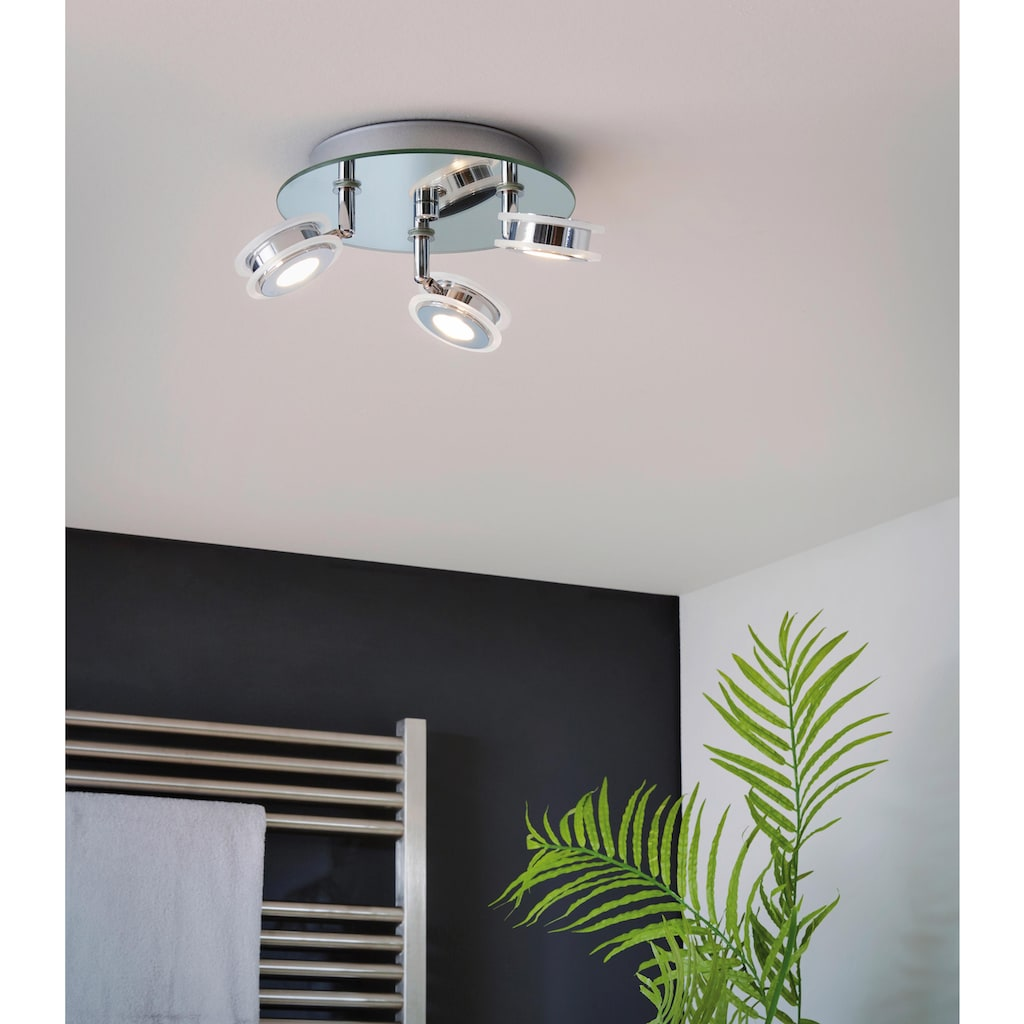 EGLO LED Deckenstrahler »AGUEDA«, LED-Board, Warmweiß, LED Deckenleuchte, LED Deckenlampe